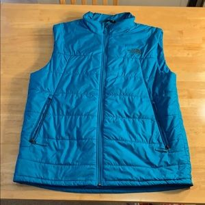 Women's the north face puffy vest